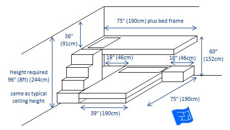 built-in-bunk-beds-2-bunk-t-shape-3d-3